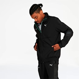 Mercedes AMG Petronas Street Men's Woven Jacket, Puma Black, small