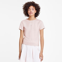 Classics Tight Women's Top, Rosewater, small