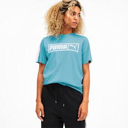 Camiseta Classics No.2 T7 para mujer, Milky Blue, pequeño