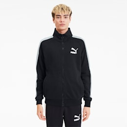 Iconic T7 Men's Track Jacket, Puma Black, small-SEA