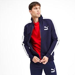 Iconic T7 Men's Track Jacket, Peacoat, small