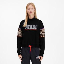 PUMA x SOPHIA WEBSTER Crew Women's Sweater, Puma Black, small
