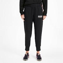 Pantalon de survêtement tricoté PUMA x SOPHIA WEBSTER pour femme, Puma Black, small