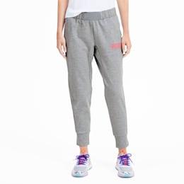 PUMA x SOPHIA WEBSTER Knitted Women's Sweat Pants, Light Gray Heather, small