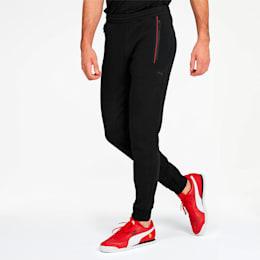 Pantalones deportivos Ferrari para hombre, Puma Black, pequeño