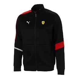 Ferrari T7 Men's Track Jacket, Puma Black, small