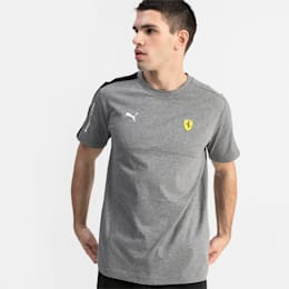 Scuderia Ferrari T7 Men's Tee, Medium Gray Heather, small