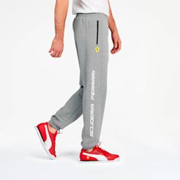 Scuderia Ferrari Men's Sweatpants, Medium Gray Heather, small