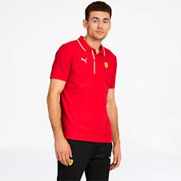 Camiseta tipo polo Scuderia Ferrari para hombre, Rosso Corsa, pequeño