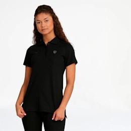 Scuderia Ferrari Women's Polo, Puma Black, small