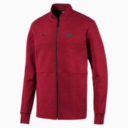 Ferrari Men's Sweat Jacket, Rhubarb, small-IND
