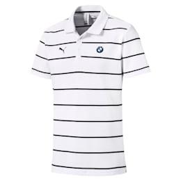 BMW M Motorsports Striped Men's Polo Shirt
