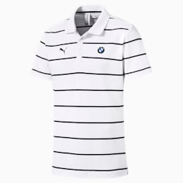 BMW M Motorsports Striped Men's Polo Shirt