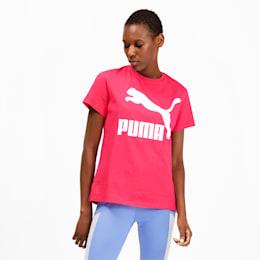 Classics Logo Damen T-Shirt, Nrgy Rose, small