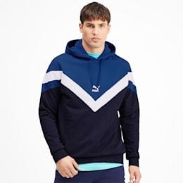 Sweatshirt à capuche Iconic MCS pour homme, Peacoat, small