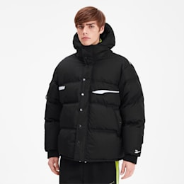 PUMA x ADER ERROR Down Puffer Jacket, Puma Black, small