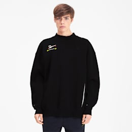 PUMA x ADER ERROR Crewneck Sweatshirt, Cotton Black, small