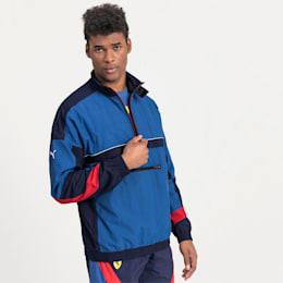 Ferrari Street Woven Men's Jacket, Galaxy Blue, small