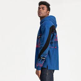 Sweatshirt à capuche Ferrari Street pour homme, Galaxy Blue, small