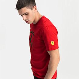 Ferrari Big Shield Men's Tee, Rosso Corsa, small-SEA