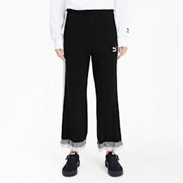 PUMA x TYAKASHA Knitted Women's Culottes, Cotton Black, small