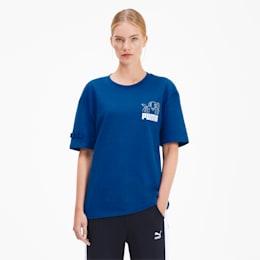 PUMA x TYAKASHA T-Shirt, Galaxy Blue, small