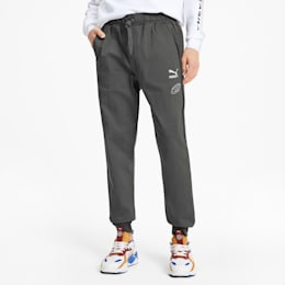 PUMA x TYAKASHA Men's Track Pants, CASTLEROCK, small