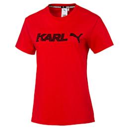 Damska koszulka PUMA x KARL LAGERFELD