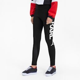 PUMA x KARL LAGERFELD Women's Leggings, Puma Black, small