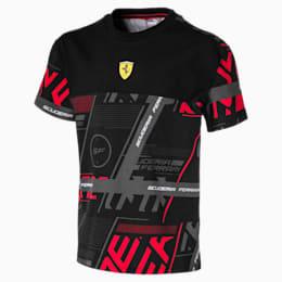 Scuderia Ferrari Street Boys' Tee JR, Puma Black, small