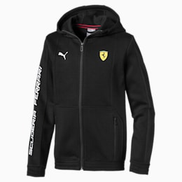 Ferrari Hooded Kids' Sweat Jacket