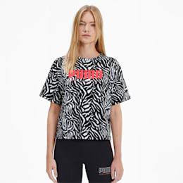 T-shirt PUMA x SOPHIA WEBSTER para mulher, Puma White, small