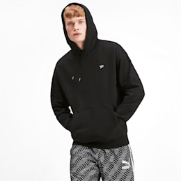 Downtown Men's Hoodie, Puma Black, small