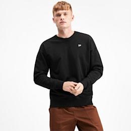 Downtown Men's Crewneck Sweatshirt, Puma Black, small