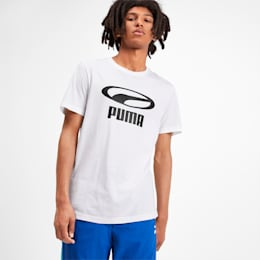 XTG Graphic Men's Tee, Puma White, small