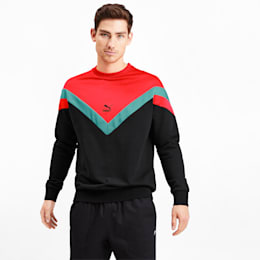 Iconic MCS Men's Crewneck Sweatshirt, Puma Black, small