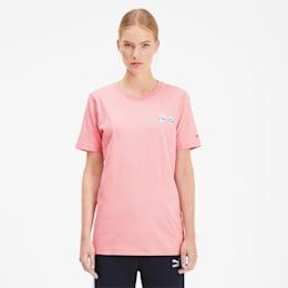 PUMA x TYAKASHA Tシャツ, Bridal Rose, small-JPN