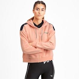 Chase Women's Cropped Full Zip Hoodie