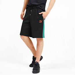 luXTG Herren Bermuda Sweatpants, Puma Black, small