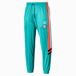 luXTG Woven Knitted Men's Pants