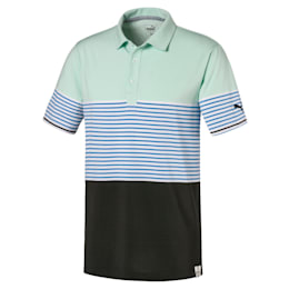 Camiseta tipo poloCloudspun Taylor para hombre, Mist Green, pequeño