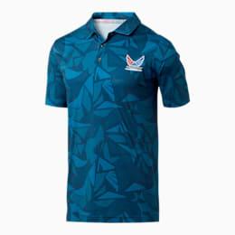 Camiseta tipo polo VolitionAmericamo para hombre, Dark Denim, pequeño