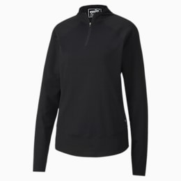 Mesh 1/4 Zip Damen Golf Pullover