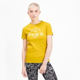 プーマ XTG ウィメンズ グラフィック SS Tシャツ 半袖, Sulphur, small-JPN