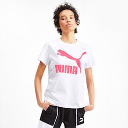 CLASSICS ロゴ ウィメンズ SS Tシャツ, Puma White, small-JPN