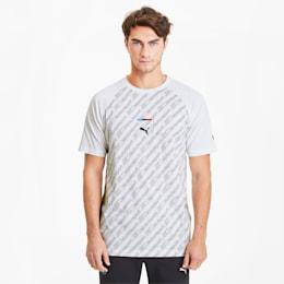 BMW M Motorsport Street T-Shirt, Puma White, small