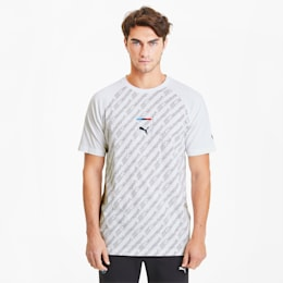 BMW M Motorsports Street-T-shirt, Puma White, small