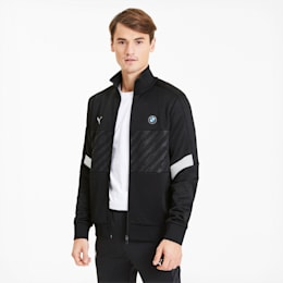 BMW M Motorsport Men's Track Jacket, Puma Black, small