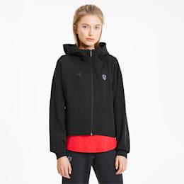 Scuderia Ferrari Women's Hooded Sweat Jacket, Puma Black, small