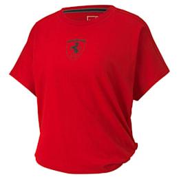 Ferrari Wmn Big Shield Tee